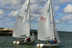Sailing regatta event Stock Image