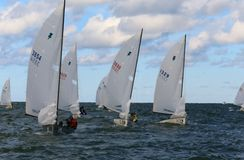 Sailing regatta event Stock Photography