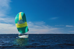 Sailing regatta in Russia Royalty Free Stock Photography