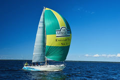 Sailing regatta in Russia Royalty Free Stock Photos