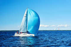 Sailing regatta in Russia Stock Images