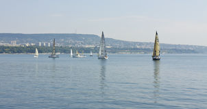 Sailing regatta, Varna Stock Image