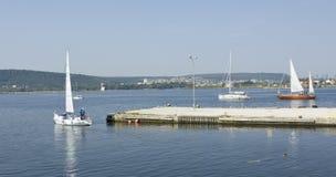 Sailing regatta, Varna Stock Images