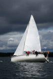 Sailing regatta-winds. Royalty Free Stock Image