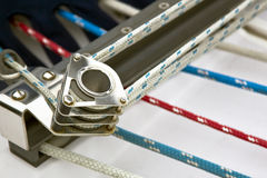 Sailing Rigging Stock Photo