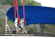 Sailing rigging Royalty Free Stock Photos