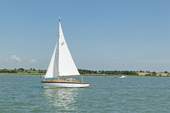 Sailing on the River Stock Photos