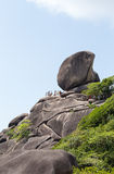 The Sailing Rock, Similan National Park Royalty Free Stock Photos