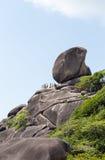 The Sailing Rock, Similan National Park Royalty Free Stock Photos