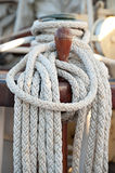Sailing rope stock photography