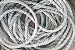 Sailing rope Royalty Free Stock Image