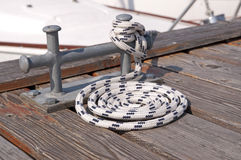 Sailing rope Royalty Free Stock Photo
