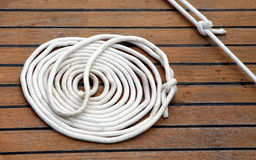 Sailing rope Stock Photo