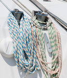 Sailing ropes Stock Images
