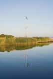 Sailing sail. On the mast Stock Photos