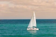 Sailing sailboat Stock Photo