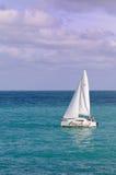 Sailing sailboat Royalty Free Stock Images