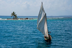 Sailing the San Blas Islands, Panama Stock Photos