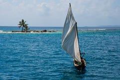 Sailing the San Blas Islands, Panama Stock Photos