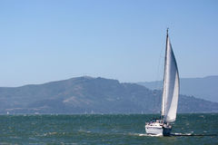 Sailing in San Francisco Royalty Free Stock Photo