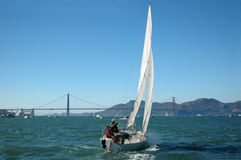 Sailing San Francisco Bay Royalty Free Stock Photography