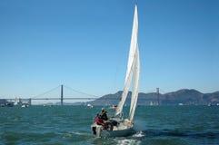 Sailing San Francisco Bay royalty free stock photography