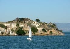 Sailing in the San Francisco Bay Royalty Free Stock Image
