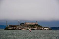 Sailing in San Francisco Bay Royalty Free Stock Photos