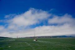 Sailing in San Francisco Bay Stock Image
