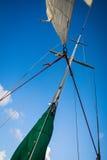 Sailing in San Juan Bay. Sailing in San Juan inner harbor Royalty Free Stock Photo