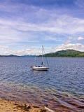 Sailing sandbank Royalty Free Stock Photography