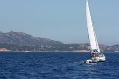 Sailing Sardinia Italy Royalty Free Stock Images