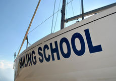 Sailing school Stock Images