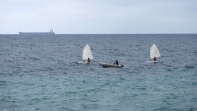 Sailing school Royalty Free Stock Photos