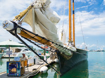 Sailing Schooner America 2 Key West Florida Stock Photo