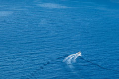 Sailing the sea Royalty Free Stock Images