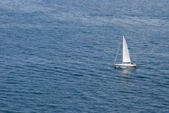 Sailing on the sea Royalty Free Stock Photo