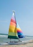 Sailing on the sea stock photos