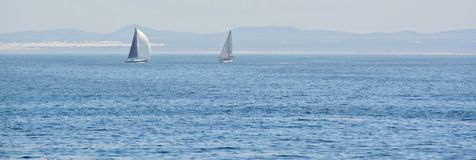 Sailing... Royalty Free Stock Photography