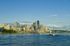 Sailing in Seattle Stock Images