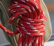 Sailing sheets Stock Photo