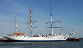 Sailing ship 04 - Gorch Fock Royalty Free Stock Photo