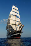 The sailing ship Stock Photo