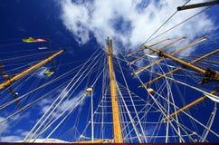 Sailing ship. royalty free stock photography