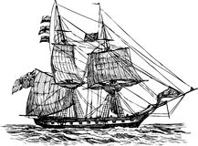 Free Sailing Ship Royalty Free Stock Image - 28430926