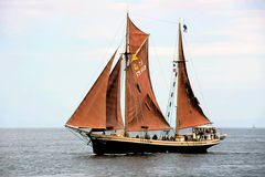 Sailing-ship-6 Fotografie Stock Libere da Diritti