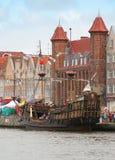 The sailing-ship Royalty Free Stock Photo