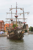 The sailing-ship Royalty Free Stock Images