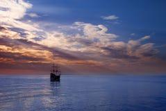Sailing Ship At Sea Stock Photos