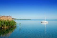 Sailing Ship Beneath The Blue Sky